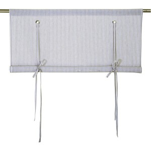 sch ne gardinen im schweden stil rollgardinen raffgardinen querbeh nge gardinenschals bei. Black Bedroom Furniture Sets. Home Design Ideas