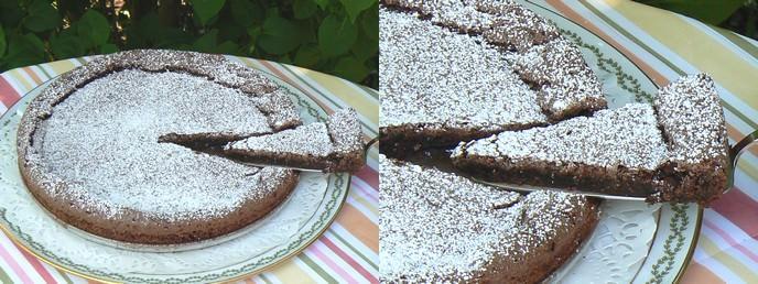 Rezept Kladdkaka - schwedischer Schokoladenkuchen