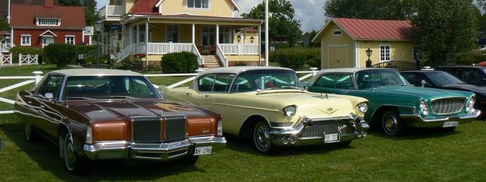 classic cars in Schweden