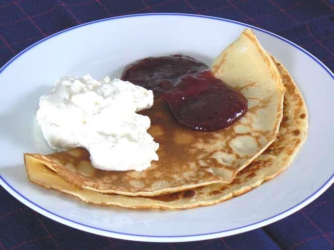 Rezept für schwedische Pfannkuchen