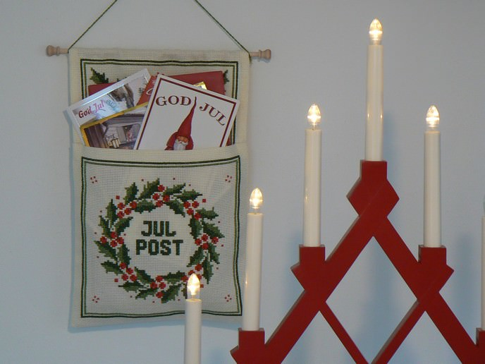 schwedische Weihnachtspost Julpost