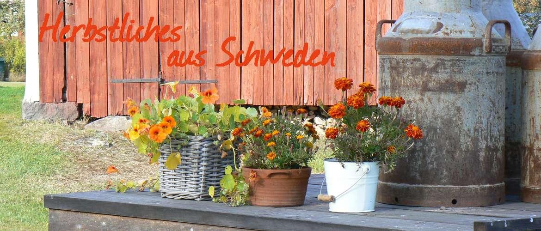 Deko-Artikel für den Herbst aus Schweden
