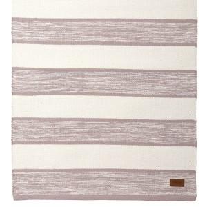 Teppich rosa weiß 70x240 cm Baumwolle