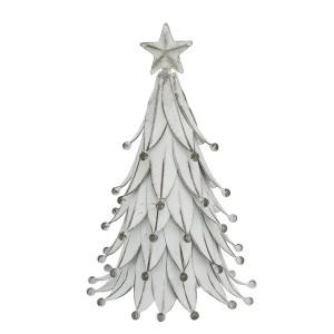 Deko-Baum Tanne weiß 20 cm