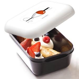 Frozzypack Frühstücksdose mit Kühlfunktion im Deckel