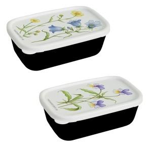 2 Miniboxen mit Wildblumen Motiv