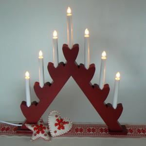 """schwedischer Lichterbogen """"Annie"""" Weihnachten"""