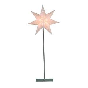"""Schwedische Standleuchte """"Sensy Star Mini"""" creme 83 cm"""
