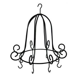 Metall Krone zum Hängen für Kräuter oder Vogelfutter