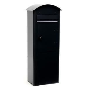 Standbriefkasten Safepost 70-5 Combi schwarz aus Schweden