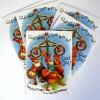 5 lustige schwedische Weihnachtskarten Osterkarten