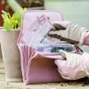 GardenGirl Saattasche mit 6 Fächern für Sämereien