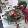 Tischläufer Rättvik im skandinavischen Landhausstil aus Baumwolle