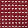 Teppich Vilde weinrot Baumwolle