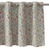 """Querbehang / Bistrogardine 230 x 50 cm """"Pionee"""" grün mit kleinen Blumen"""
