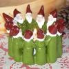 Harvesttime Teelichthalter Wichtelkreis / Wichtelring grün