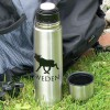 Für Elchfans: Thermosflasche 0,5 l Edelstahl mit Elchmotiv