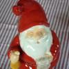 Glücklicher Jultomte mit Wunschliste