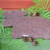 Filzuntersetzer Elch braun aus Schurwolle