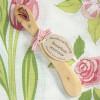 Buttermesser rosa Blumen aus duftendem Wacholderholz