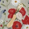 Buttermesser Sommerwiese mit Margeriten handbemalt