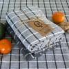 Frottee Küchenhandtuch grau recycelt 2er Set