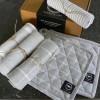 Küchentextil Geschenk Set hellgrau recycelt 6-teilig