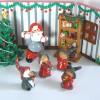 Tomte-Raum: Spielende Tomte Kinder 4-teilig