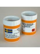 Schnapsbecher schwedische Arzneidose 2er-Set