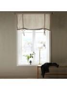 Schwedische Rollgardine 100cm breit aus beige farbener Baumwolle