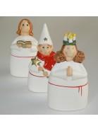 Lucia Festzug 3-teilig aus Keramik
