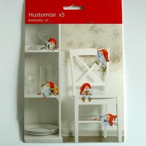 Schwedische Weihnachtsdeko: PappaufstellerTomte