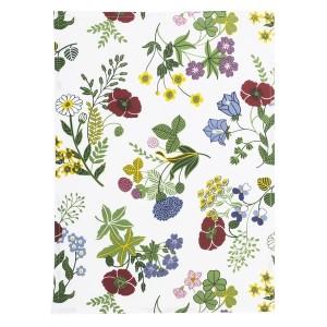 """Florales Geschirrtuch """"Sommertraum"""""""