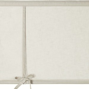 Rollgardine Raffgardine Binderollo beige 140 cm