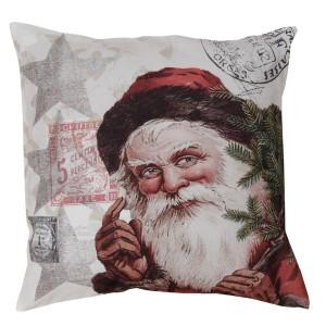 Kissenhülle / Kissenbezug 45x45 cm Weihnachtsmann
