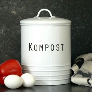 """Für den Bioabfall in der Küche: Kompost Behälter """"Svarte Petter"""""""