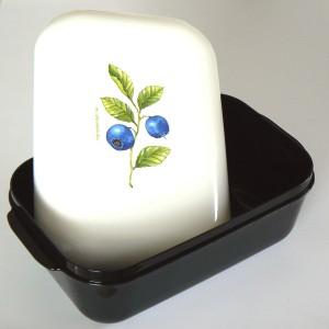 Frozzypack Frühstücksdose mit Kühlfunktion Blaubeeren