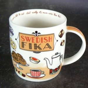 Kaffeebecher Swedish Fika