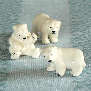 Coole Eisbären in Setzkastengröße (3er-Set)