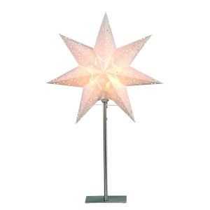 """Schwedische Standleuchte """"Sensy Star Mini"""" creme 55 cm"""