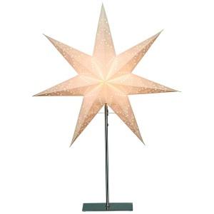 "Standleuchte ""Sensy Star"" creme 78 cm"