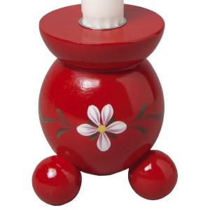 Kugelleuchter Blüte rot