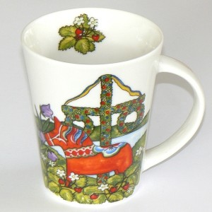 Kaffeetasse / Teebecher Dalapferd Mittsommer