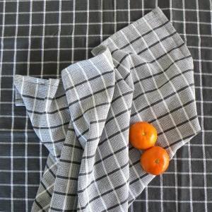 Frottee Küchenhandtücher grau recycelt