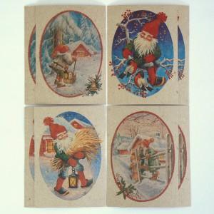 8 Schwedische Weihnachtskarten Lars Carlsson