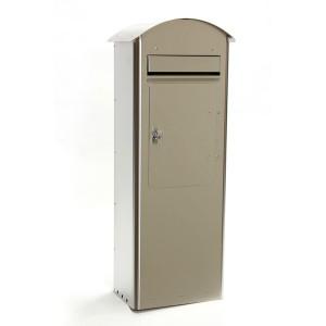 Standbriefkasten Safepost 70-5 Combi Edelstahl
