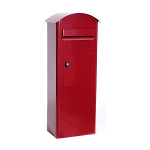 Standbriefkasten Safepost 70-5 Combi rot