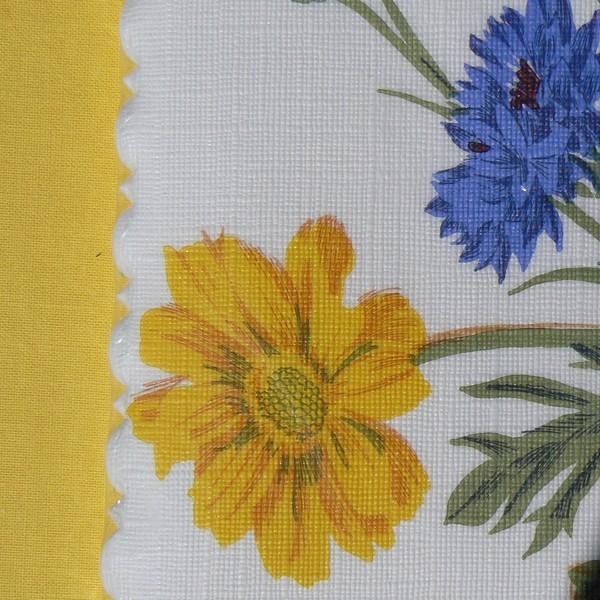 25 Struktur Servietten Schwedenfarben mit hübscher Kante