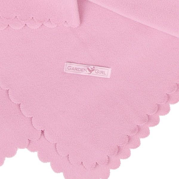 GardenGirl Polar Fleecedecke rosa