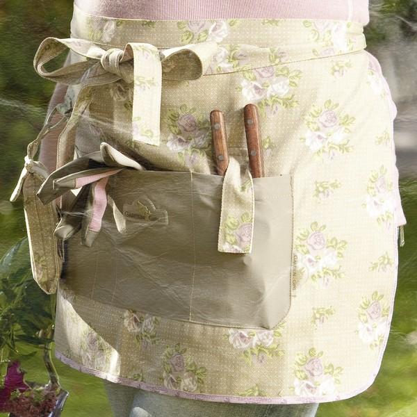 GardenGirl Schürze kurz Taschen